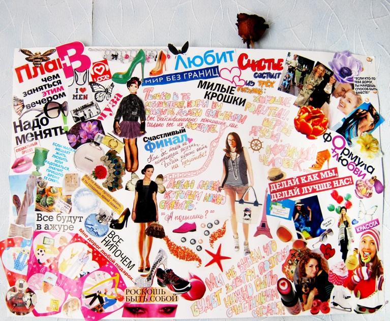 Как сделать вырезки из журналов
